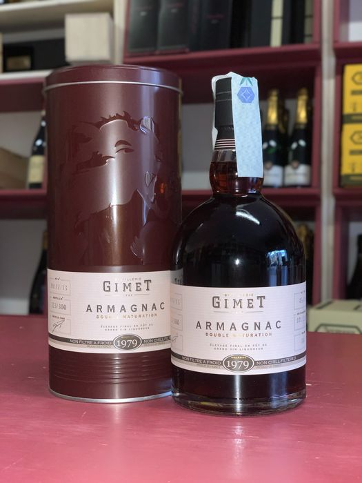 Gimet 1979 41 years old - Armagnac Double Maturation - 70cl