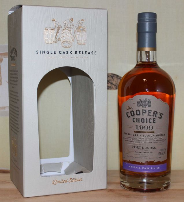 Port Dundas 1999 Marsala Cask Finish - The Cooper's Choice - b. 2018 - 70cl