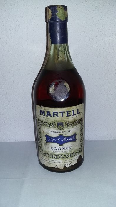 Martell - Three Star, Portuguese Import - b. 1960s, 1970s - no volume stated, circa 70cl