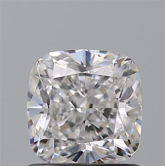 1 pcs Diamant - 0.91 ct - Cushion - E - VVS2