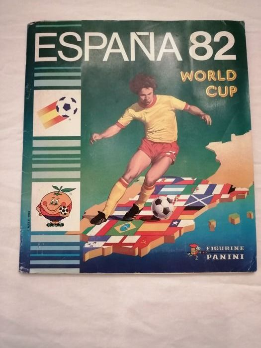Panini - World Cup Espańa 82 - Album complet - 1982