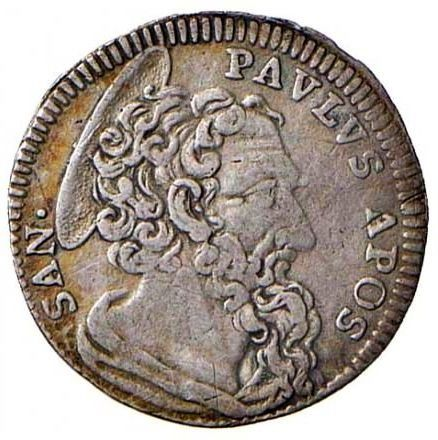 Italy - Papal States - Roma - Benedetto XIV (1740-1758) - Grosso An. IV - Silver