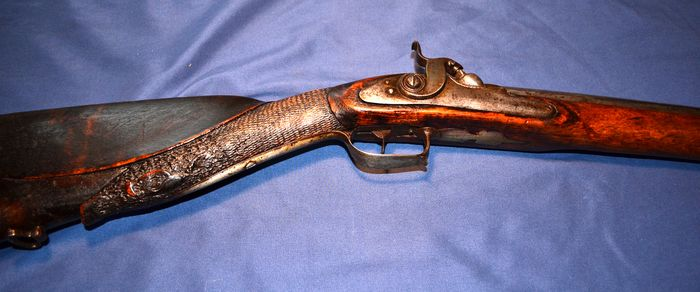 Allemagne - Single Shot - Flintlock converted to percussion - Mousquet - 17 mm