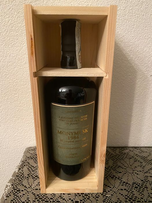 Monymusk 1984 Velier - MMW Wedderburn - b. July 2020 - 70cl