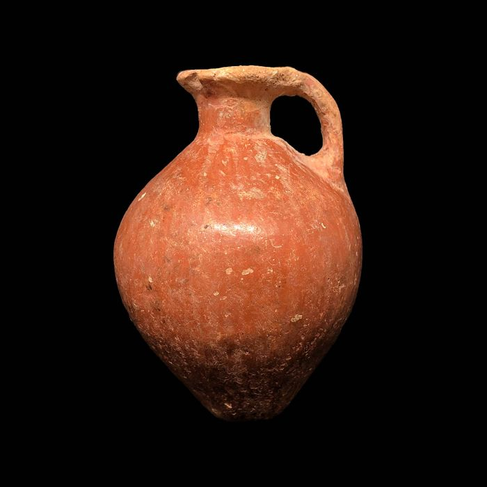 Holy Land (Canaanite) Pottery miniature juglet, 6,8 cm