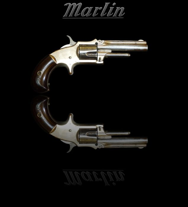 VS - Marlin - Model 1882 - SA - Randvuurontsteking - Revolver - .30 cal