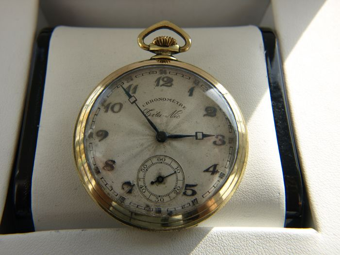 Chronometre  -  pocket watch NO RESERVE PRICE - 11552 - Heren - 1901-1949