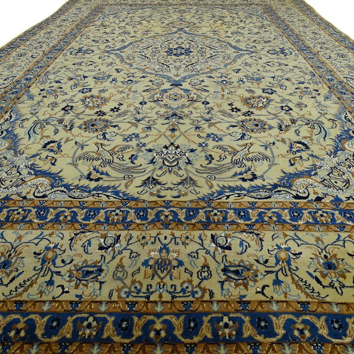 Nain - Rug with Silk - 9LA - 340 cm - 216 cm