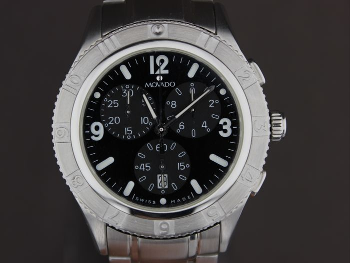 Movado - NO RESERVE PRICE-Chronograph-Date- - 84 F9 1890 - Heren - 2000-2010
