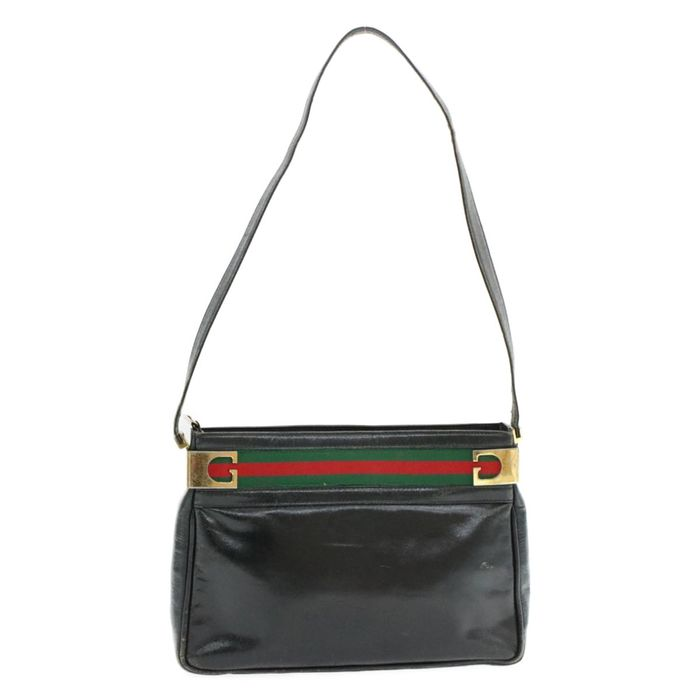 Gucci - Web Sherry Line Shoulder bag