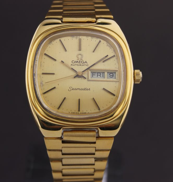 Omega - Seamaster-Automatic-Day Date-Cal.1020- - 166.0213 - Mænd - 1970-1979