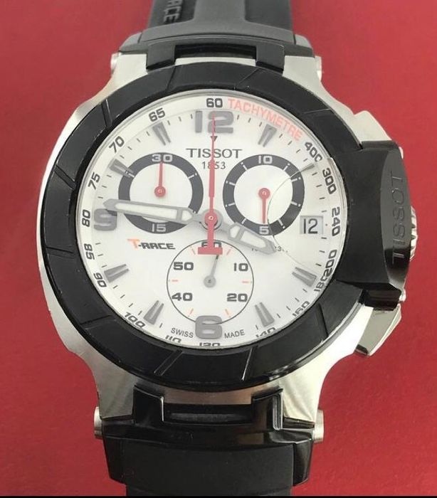 """Tissot - T-Race Chronograph - """"NO RESERVE PRICE"""" - T048.417A - Heren - 2011-heden"""