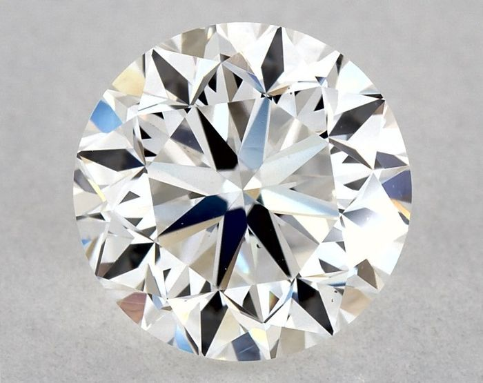 Diamond - 0.90 ct - Brilliant, Round - E - VS1, GD/EX/VG | GIA