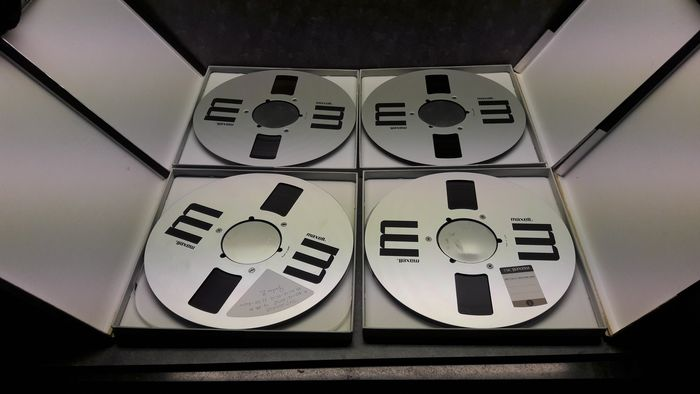 Maxell - reels - 26 cm tapes