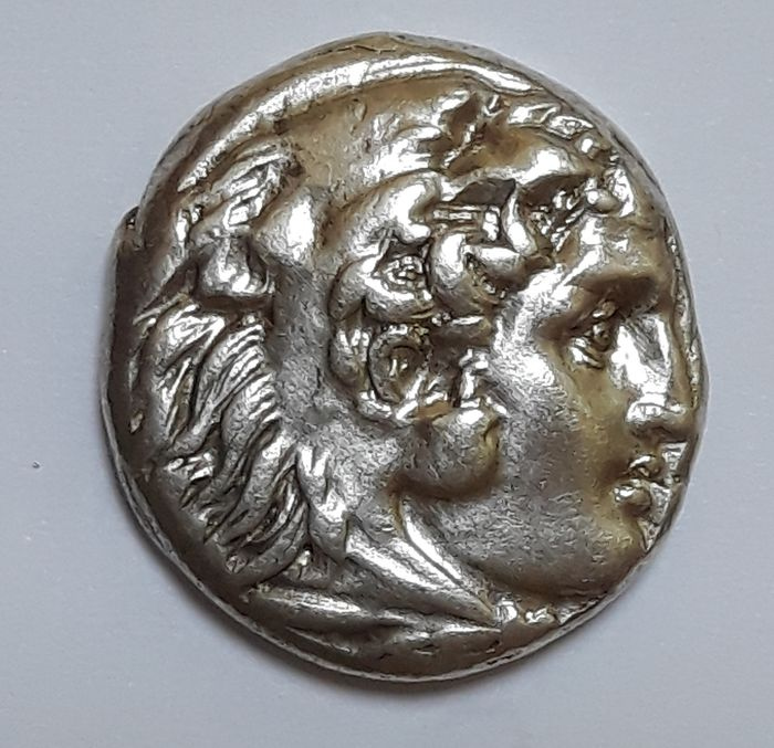 "Greece (ancient) - Macedonia, AR Drachm, Alexander III ""the Great"" 336-323 BC.  Sardes mint, issued c.334-323 B.C. - Silver"