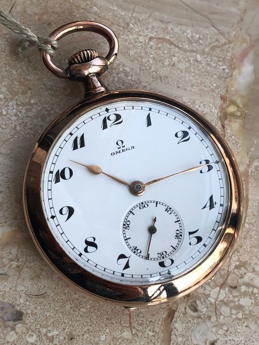 Omega - Pocket watch - Silver - NO RESERVE PRICE cal. 18 LPB - Heren - 1901-1949