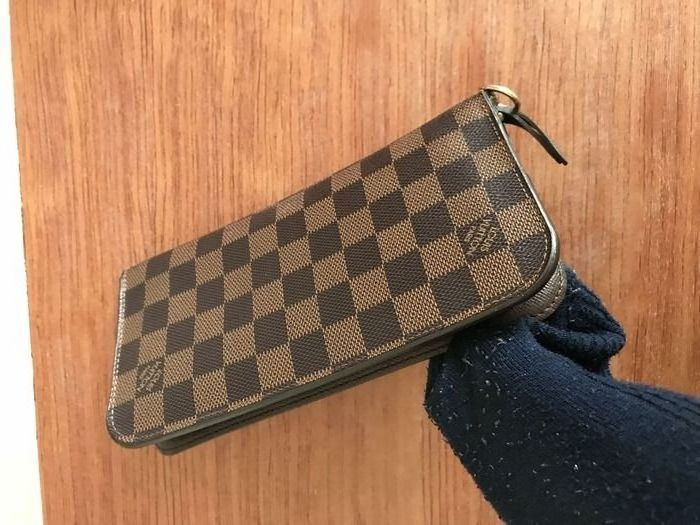 Louis Vuitton - Damier Ebene Insolite long Wallet Cartera