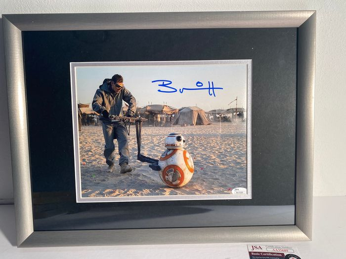 Star Wars - Brian Herring (BB-8) - Autografo, Fotografia, signed in person, framed