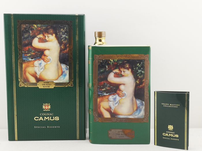 Camus - Special Reserve - Grand Masters Collection - After The Bath (1888) Renoir - Limoges & Gold 22ct - b. 1980s - 70cl