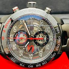 TAG Heuer - Carrera Heuer 01 'Senna Limited Edition' - Ref. CAR2A1L.BA0688 - Hombre - 9/2020 - New