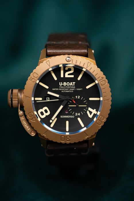 U-Boat - Sommerso Bronze Limited Edition - 8486 - Men - Brand New