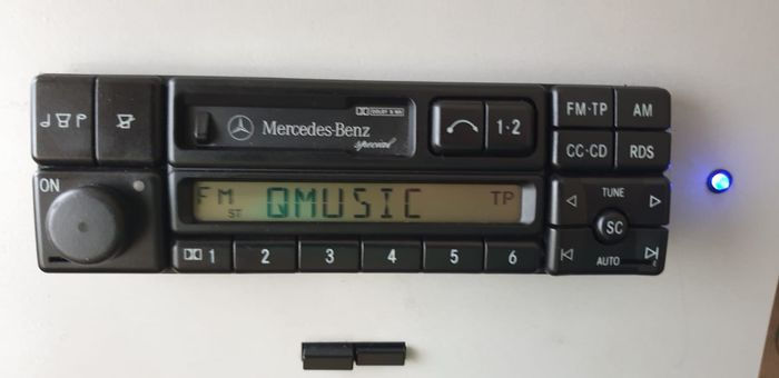 Radio OEM Mercedes Benz Becker - Becker Special be2210 Mercedes - Becker, Mercedes-Benz - 1990-2000