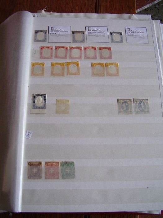 Italy Kingdom / Republic - New and used collections in album with sets and single pieces, some multiple pieces