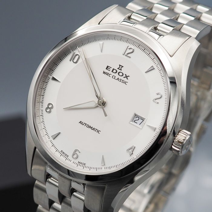 """Edox - WRC Classic Automatic - """"NO RESERVE PRICE"""" 80087 3 GIN - Heren - 2011-heden"""