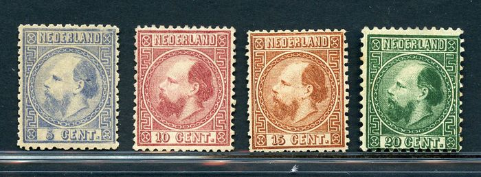Niederlande 1867/1868 - Effigy of King William III - NVPH 7/10