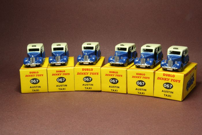 """Dinky Toys - Dublo - Austin """"Taxi"""" Trade Pack - Dinky Toys 067"""