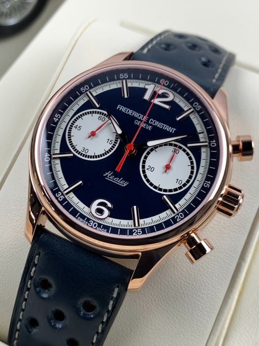 Frédérique Constant - Healey Chronograph - Limited Edition - FC-397HN5B4 - Heren - 2011-heden