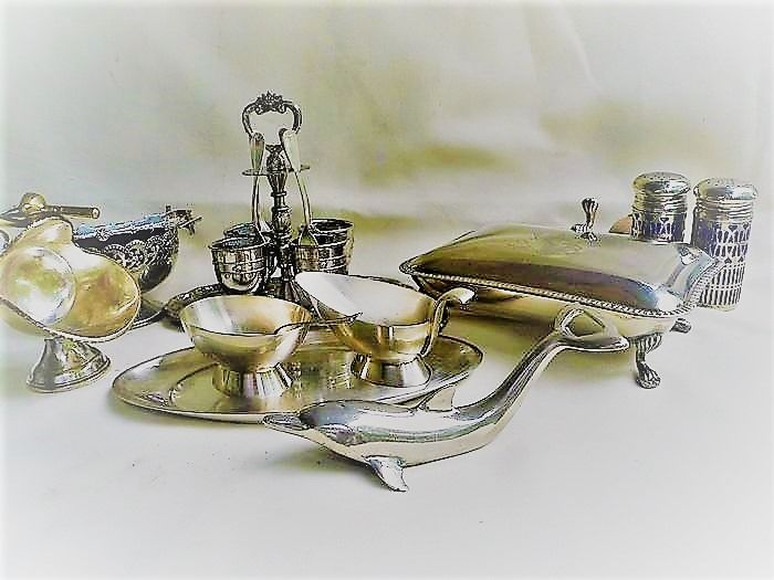 Silver-plated table decoration - Silverplate
