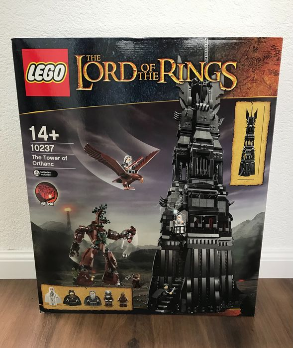 LEGO - Lord of the Rings - 10237 - Figure The Tower of Orthanc - 2000-present