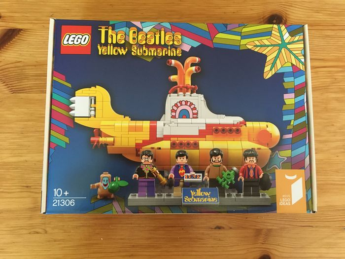 LEGO - Ideas - 21306 - Kult Beatles The Beatles Yellow Submarine - 2000-heute - Österreich