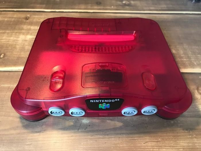 1 Nintendo 64 - without controller with cables - Console - Without original box
