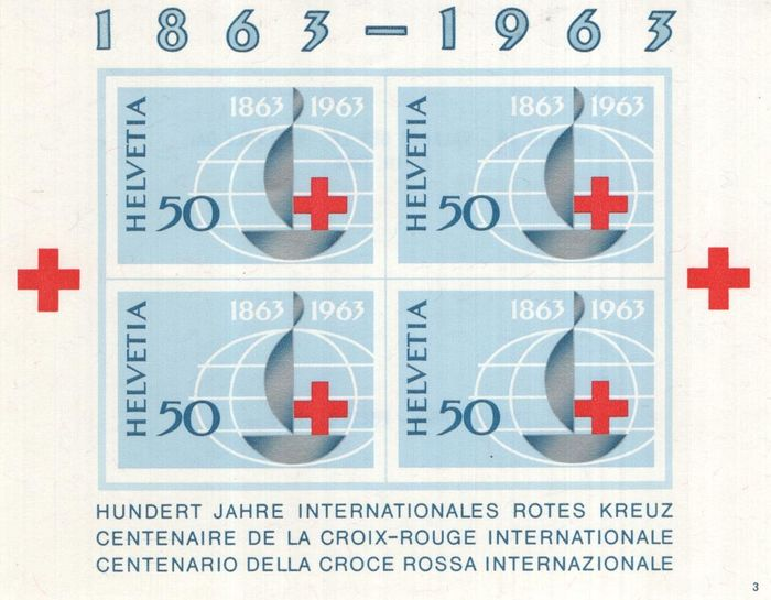 Switzerland 1854/2016 - Collection on pages