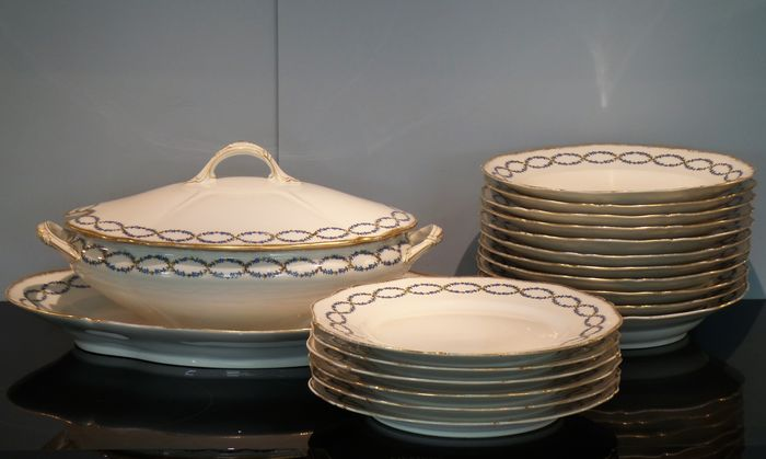 Emile Bourgeois - Limoges Crockery - Porcelain