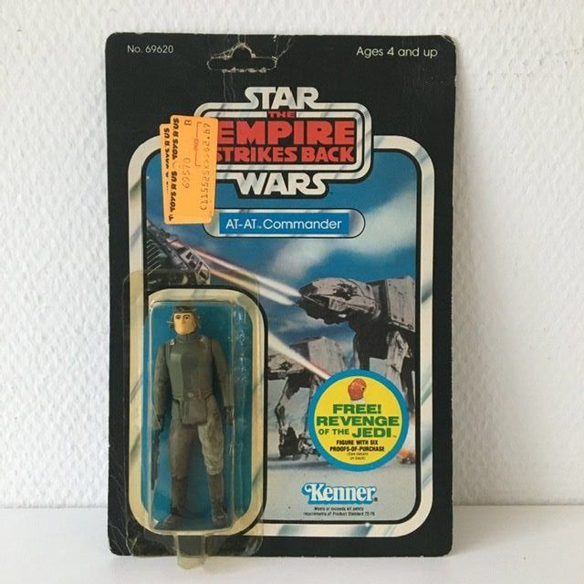 Star Wars - The Empire Strikes Back - Kenner - Pupazzetto vintage - AT-AT Commander