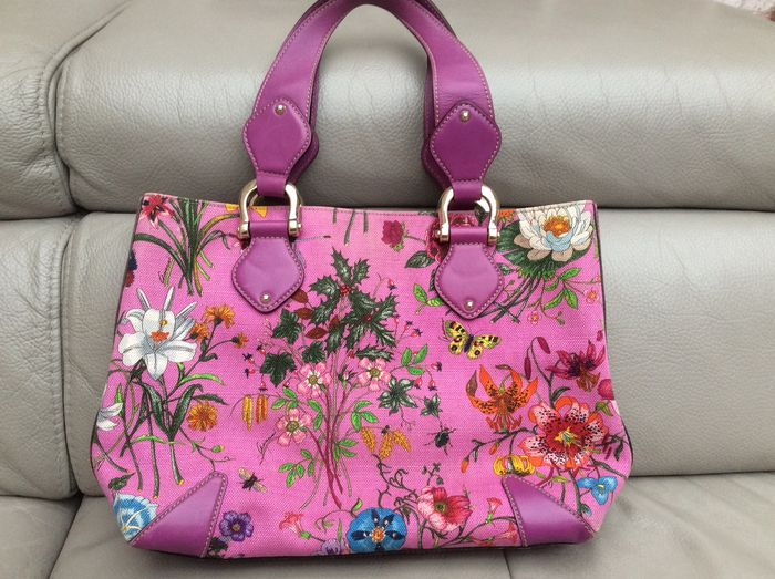 Gucci - Floral limited edition Handbag