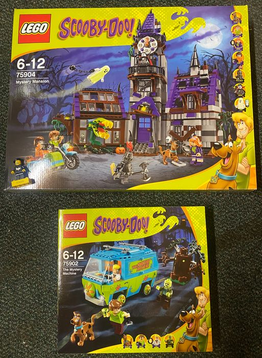 LEGO - Scooby Doo - 75902 75904 - Haunted house and mystery machine