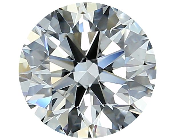 1 pcs Diamond - 0.34 ct - Round - D (colourless) - IF (flawless)
