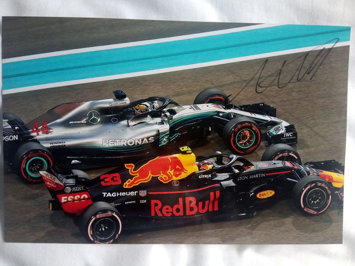 Red Bull - Formula One - Max Verstappen - Photograph