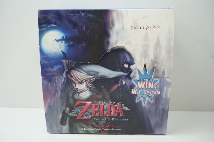 Nintendo The Legend Of Zelda Twilight Princess 24 Collectable Trading Cards Paks - Promotional material - In original box
