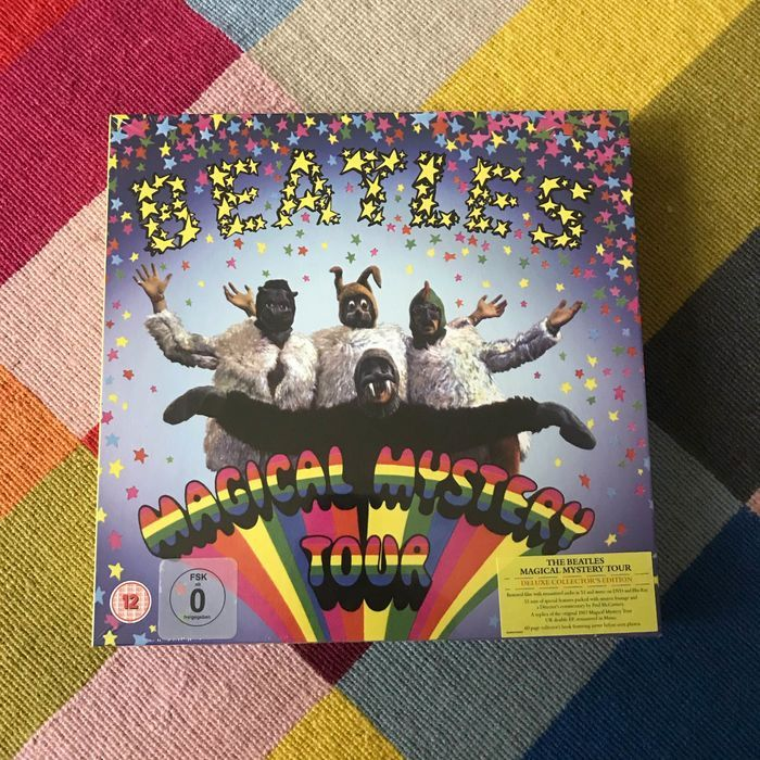 Beatles - Magical Mystery Tour Deluxe Box - 45 rpm Single, DVD, Limited box set, Blu Ray - 2012/2012