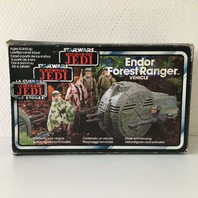 Star Wars - Return of the Jedi - Palitoy - Clipper Benelux - vintage - 1983 - Endor Forest Ranger Vehicle