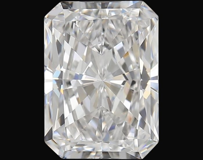 1 pcs Diamond - 1.01 ct - Radiant - D (colourless) - IF (flawless)