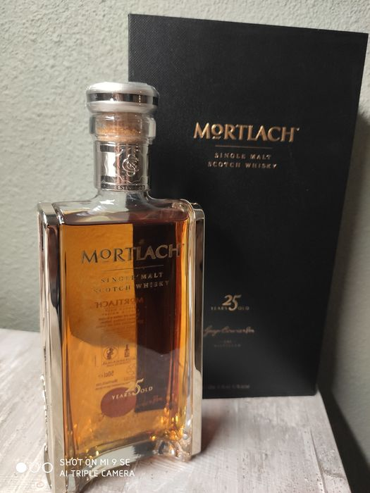 Mortlach 25 years old - Original bottling - 50cl