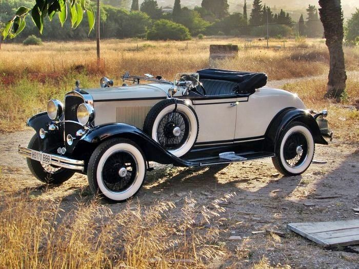 Desoto - Model CF Roadster 8 cil Club - 1930