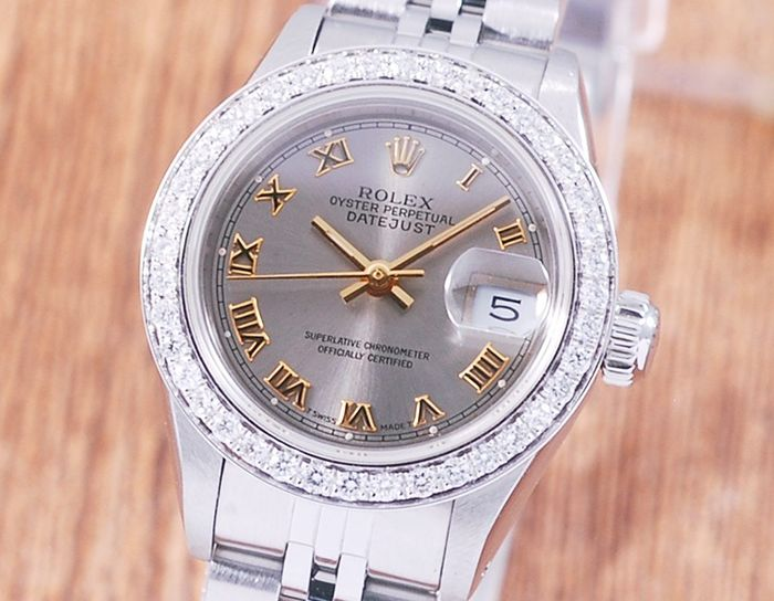 Rolex - Oyster Perpetual DateJust - 69174 - Women - 1980-1989