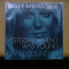 Dusty Springfield - Yesterday When I Was Young/ I Start Counting - Singolo 45 Giri - 1972